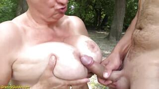 Magyar nagymama pornó
